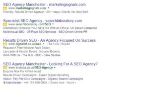 search engine marketing company UK