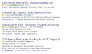 search engine marketing company UK