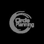 Circle Planning Greyscale logo
